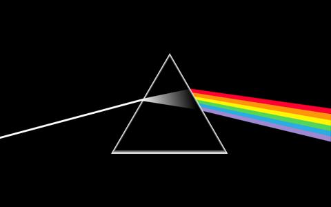 平克·弗洛伊德《月之暗面》专辑封面