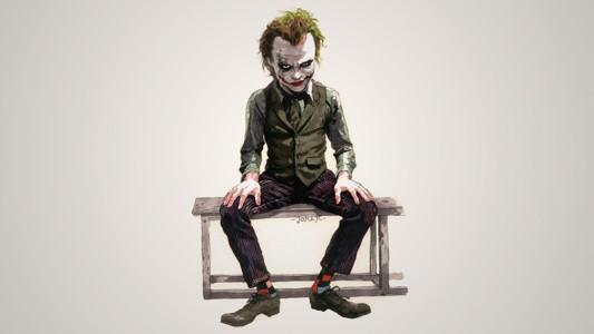手绘漫威超级反派小丑