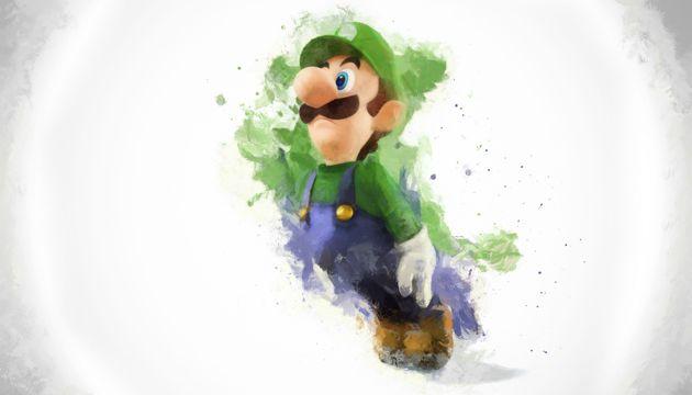 绿帽子的马里奥