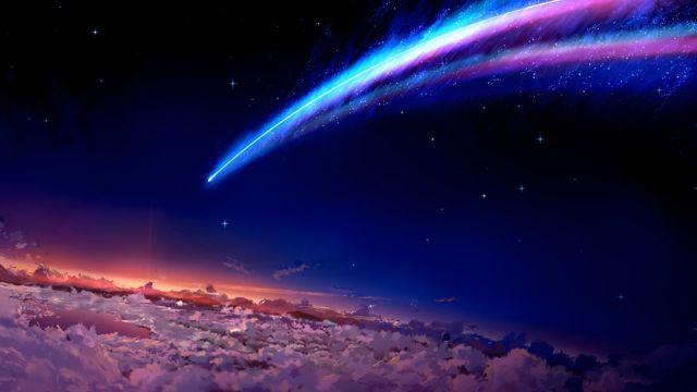 你的名字 夜空