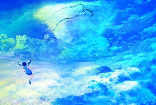 天气之子-天空