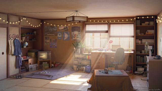 春光的房间