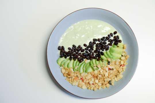 健康的早餐图片