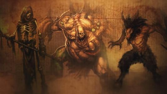 暗黑破坏神3壁纸和背景图像