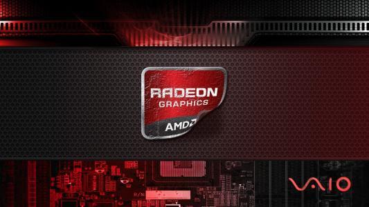 VAIO全高清壁纸和背景图像的Radeon图形