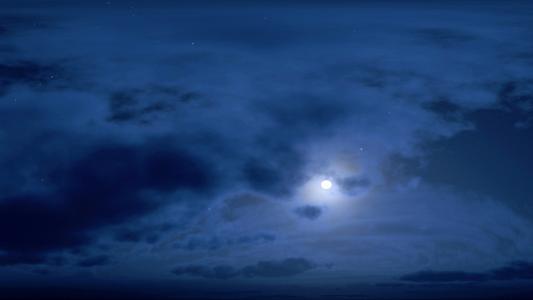 安静的夜晚全高清壁纸和背景