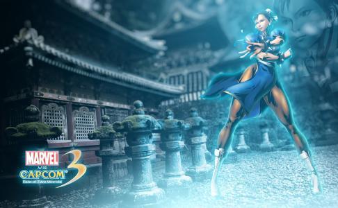 奇迹与Capcom 3:两个世界4k超高清壁纸和背景图像的命运