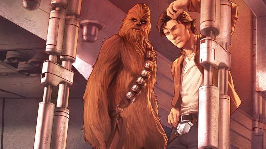 Star Wars Han Solo(2016 Marvel)04,Variant Cover,Han Solo和Chewbacca全高清壁纸和背景