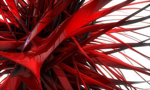 红色的墙纸和背景