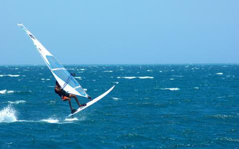 滑浪风帆全高清壁纸和背景