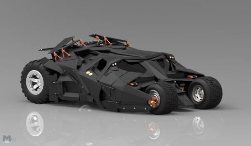霸气的蝙蝠战车