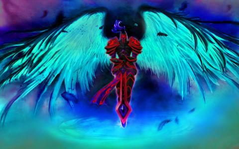 黑暗的大天使kayle壁纸和背景图像