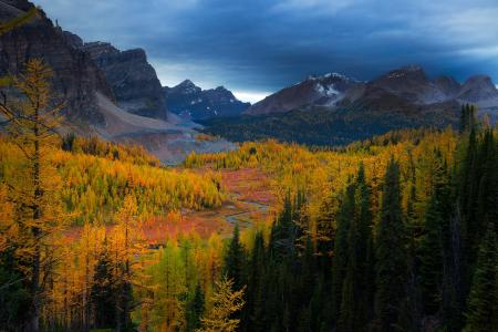 秋天的山风景全高清壁纸和背景图像