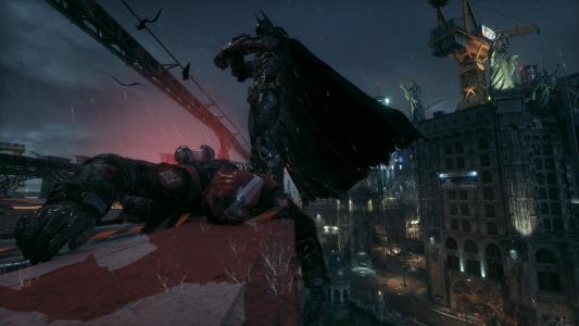 蝙蝠侠:阿卡姆骑士4k超高清壁纸和背景图片