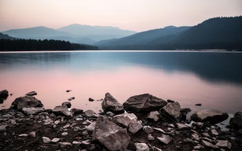 湖壁纸和背景图像
