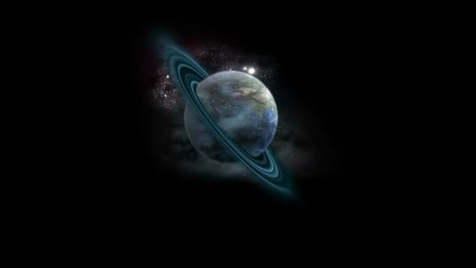 行星环全高清壁纸和背景