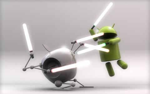 android vs蘋果全高清壁紙和背景