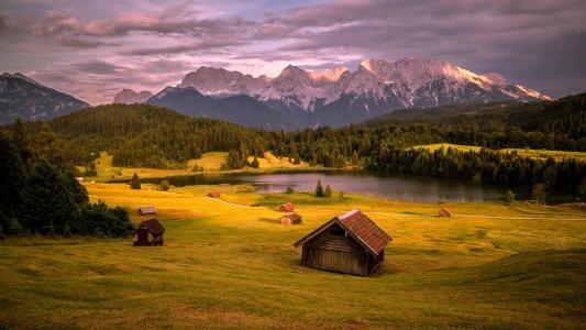 山风景全高清壁纸和背景