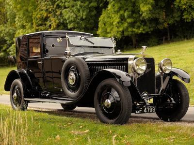 1924年Hispano Suiza H6b全高清壁纸和背景图像