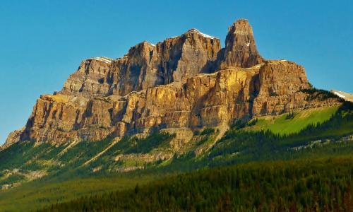 城堡山全高清壁纸和背景
