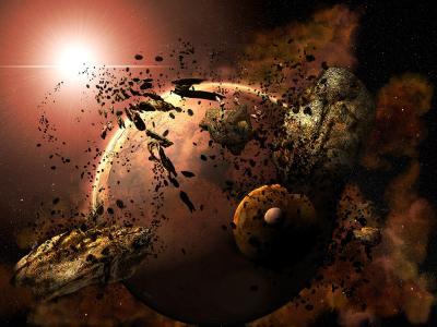 行星壁纸和背景