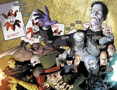 蝙蝠俠惡棍4k超高清壁紙和背景