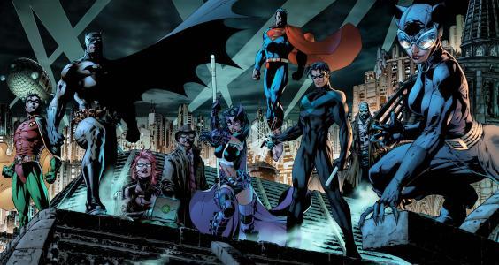 DC漫画全高清壁纸和背景