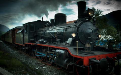 蒸汽火车全高清壁纸和背景图像
