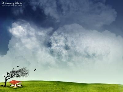 梦幻般的世界壁纸和背景图像