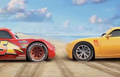 闪电McQueen克鲁斯拉米雷斯8k超高清壁纸和背景图像