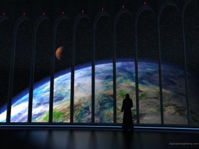 行星上升壁纸和背景