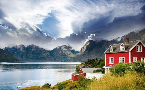 挪威Vastness 4k超高清壁纸和背景