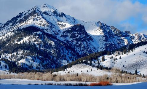 博尔德山,爱达荷州全高清壁纸和背景图像