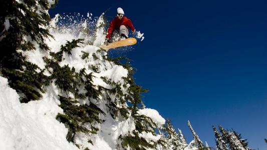 滑雪全高清壁纸和背景