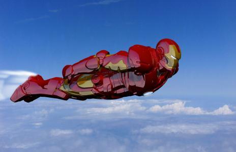 铁人飞行全高清壁纸和背景