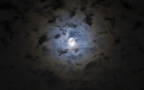 一个黑暗的夜晚壁纸和背景