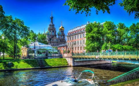 圣彼得堡,俄罗斯全高清壁纸和背景
