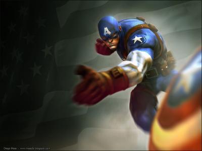 美国上尉墙纸和背景