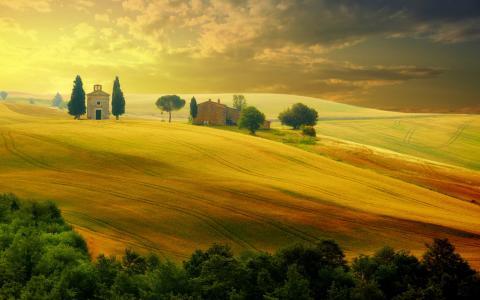 托斯卡纳意大利5k视网膜超高清壁纸和背景