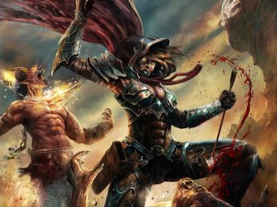 恶魔猎手全高清壁纸和背景图片