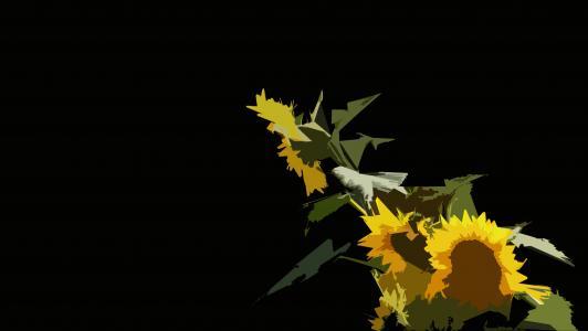 向日葵4k超高清壁纸和背景