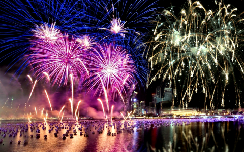 FIREWORKS [03] boulevard event [VersionOne] [220439] [31december2012monday] [2960x1850]全高清