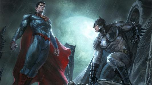 超人和蝙蝠侠全高清壁纸和背景