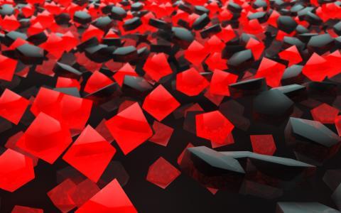 红色全高清壁纸和背景