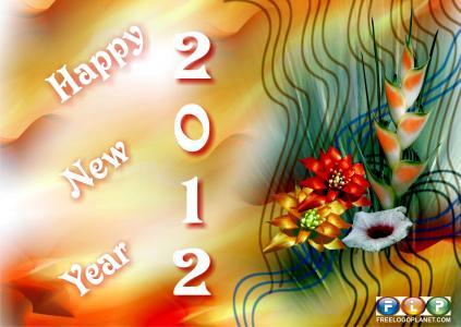 新年2012年全高清壁纸和背景图像