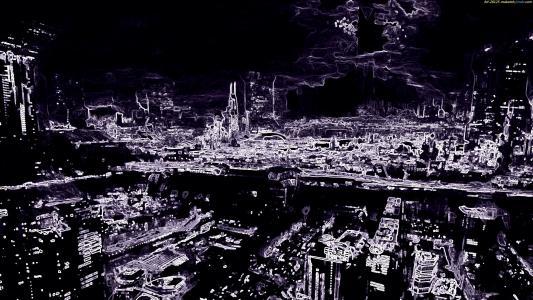 科幻 - 城市全高清壁纸和背景