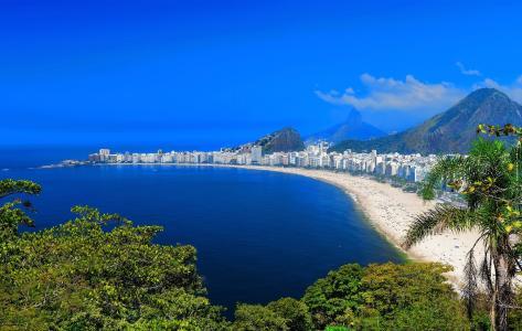 里约热内卢海滩壁纸和背景