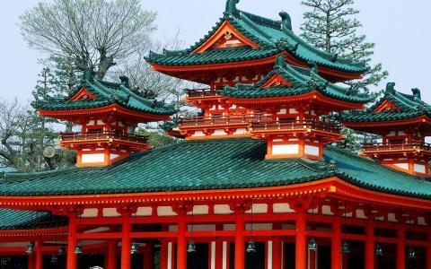平安神宫全高清壁纸和背景