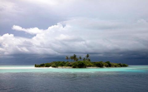 岛屿壁纸和背景图像