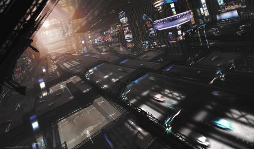 科幻纽约全高清壁纸和背景